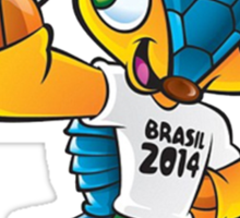 fuleco world cup Sticker
