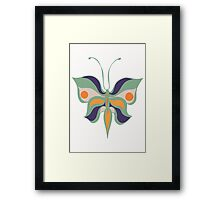 Butterly is Summertime Framed Print