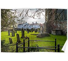 View from St Peter's Church Croft Poster