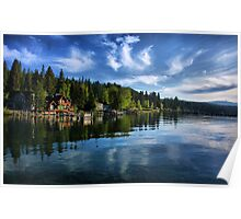 Morning At The Lake Poster