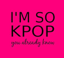 I'M SO KPOP - PINK by Kpop Seoul Shop