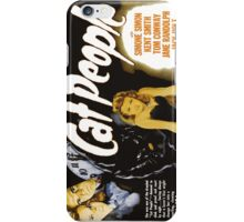 Catpeople Caught In The Night iPhone Case/Skin