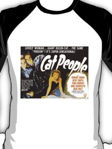 Catpeople Caught In The Night T-Shirt