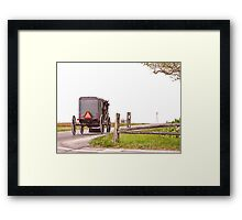 Country Traveler Framed Print