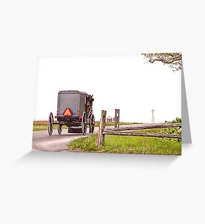 Country Traveler Greeting Card