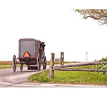 Country Traveler Photographic Print