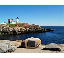 Cape Neddick Lighthouse Photographic Print