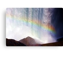 Rainbow Dam Canvas Print