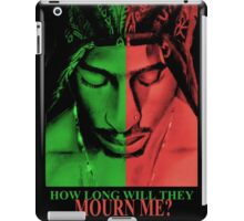 How long will they mourn me iPad Case/Skin