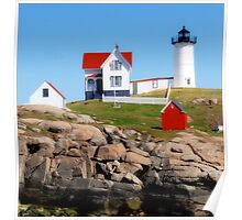 Cape Neddick Lighthouse Poster