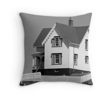 Cape Neddick Lighthouse Throw Pillow