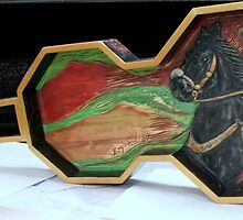 Charro Negro Guitar Sculpture  by Reynaldo