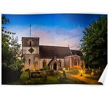 St Mary Kintbury Poster