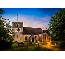 St Mary Kintbury Photographic Print