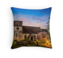 St Mary Kintbury Throw Pillow