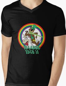 Yogi the Bear - Because F*ck it. Mens V-Neck T-Shirt