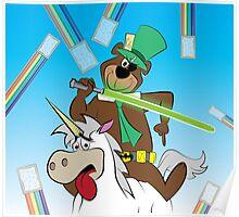 Yogi the Bear - Because F*ck it. Poster
