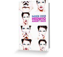 Darren is Hedwig Greeting Card