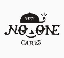 No One Cares One Piece - Short Sleeve