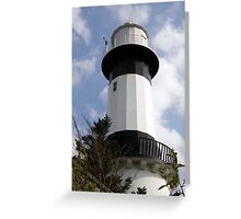 Shrove Light House County Donegal Ireland Greeting Card