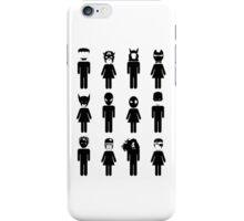Toilet Heroes! iPhone Case/Skin