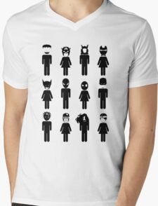 Toilet Heroes! Mens V-Neck T-Shirt