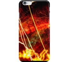 Essence of light in time - abstract iPhone Case/Skin
