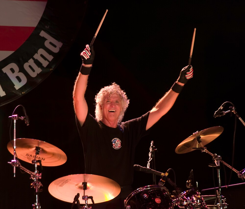 Don Brewer of Grand Funk Railroad by R0dan