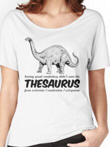 Thesaurus Extinction Women's Relaxed Fit T-Shirt