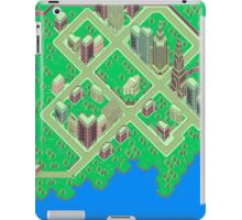 Map of Fourside iPad Case/Skin