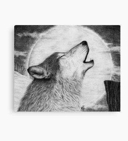 Alpha Howl Canvas Print