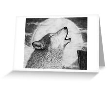 Alpha Howl Greeting Card