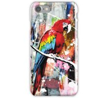 Parrot Abstract Painting iPhone Case/Skin
