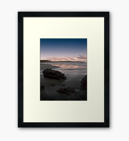 Tranquillity Base. Framed Print
