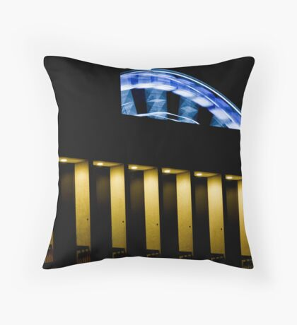 Big Wheel and QPAC Throw Pillow