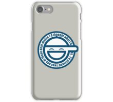 Ghost in The Shell Laughing iPhone Case/Skin