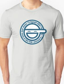 Ghost in The Shell Laughing T-Shirt