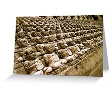 buddha fractal III Greeting Card