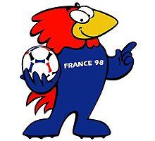 footix world cup Photographic Print