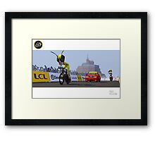 #PolyPeloton : Froome Wasp Framed Print