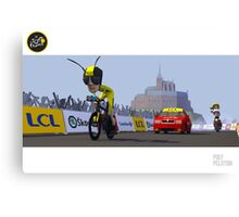 #PolyPeloton : Froome Wasp Canvas Print