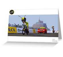 #PolyPeloton : Froome Wasp Greeting Card