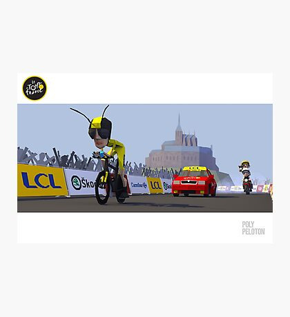 #PolyPeloton : Froome Wasp Photographic Print