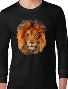 Old Lion Digital art Painting Long Sleeve T-Shirt