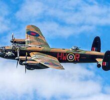 "Avro Lancaster B.1 PA474 HW-R ""Phantom of the Ruhr"" by Colin Smedley"