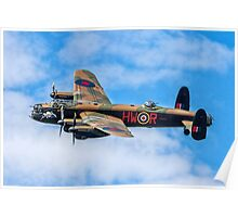 "Avro Lancaster B.1 PA474 HW-R ""Phantom of the Ruhr"" Poster"