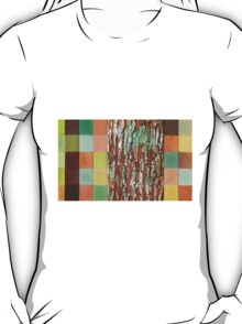 Silky Oak Bark (Detail Section 3b), On the Outer ~ Tree Trunk Extracts  T-Shirt