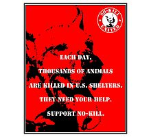 NO-KILL UNITED : ES EACH DAY (PRINT) Photographic Print