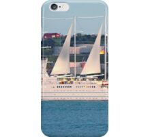 beautiful tallship in Lisbon iPhone Case/Skin