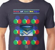 """Sheldon Wears Screens and Lenses Work Magic.""© Unisex T-Shirt"